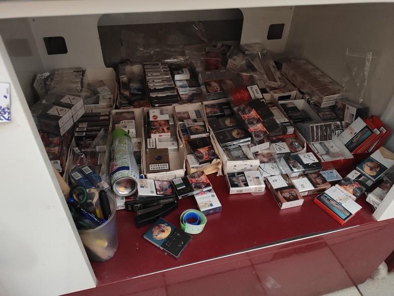 В Тверской области полицейские изъяли крупную партию немаркированной табачной продукции, предназначенной для розничной торговли