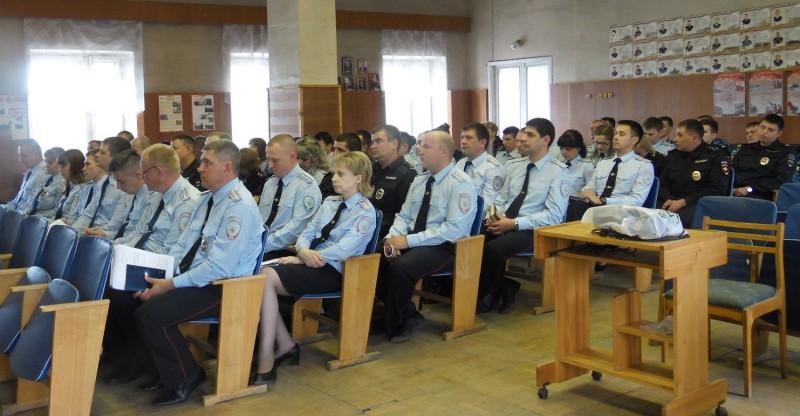 В МО МВД России «Кимрский» подвели итоги оперативно-служебной деятельности за 1 полугодие 2019 года