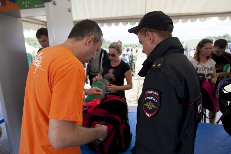 Сотрудники полиции обеспечили общественный порядок на одном из крупнейших рок-фестивалей «Нашествие – 2019»