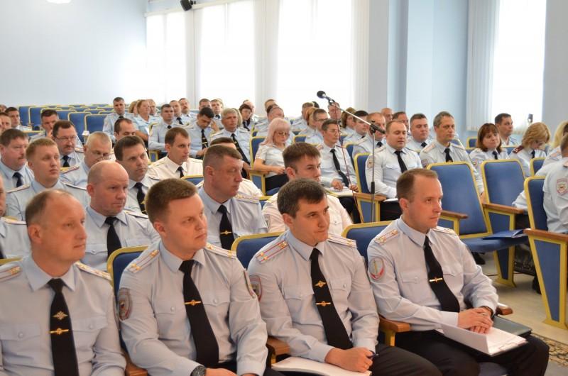 В региональном управлении МВД подвели итоги работы за полугодие.