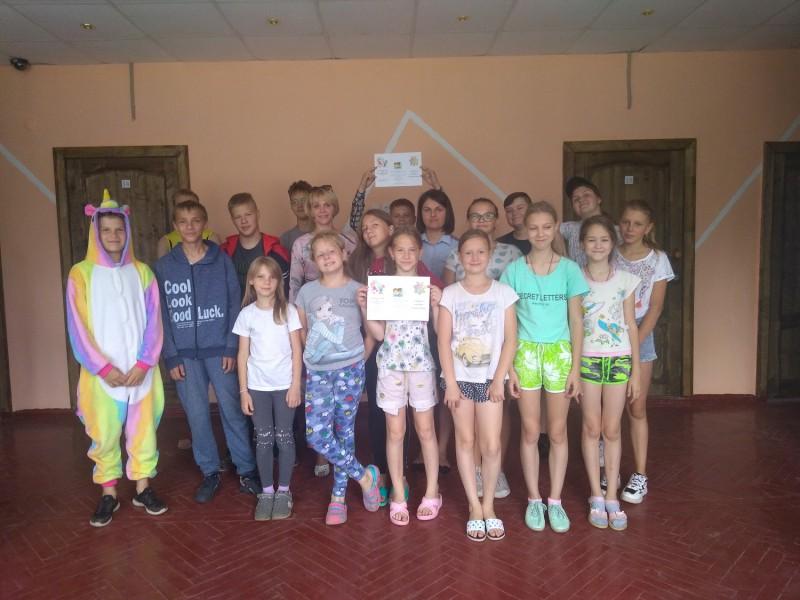 В Тверской области полицейские и общественники навестили ребят в детском лагере «Радуга»