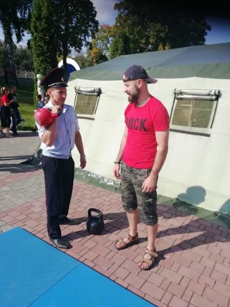 В Твери полицейские приняли участие в городском фестивале «Чего хочет Тверь»