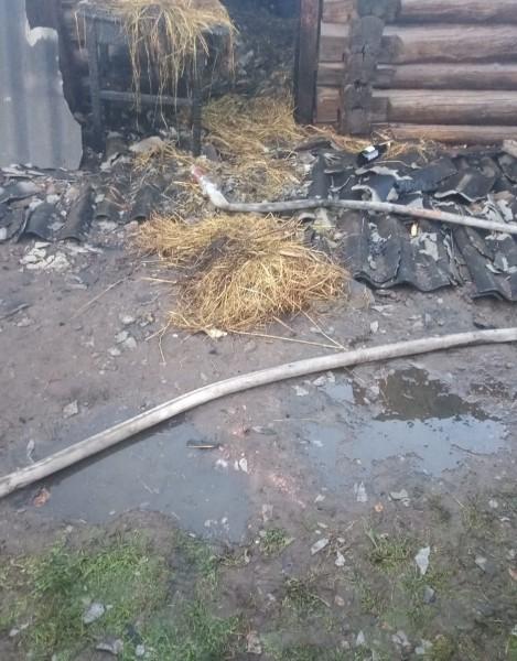Тверской области сотрудники полиции задержали подозреваемого в умышленном поджоге