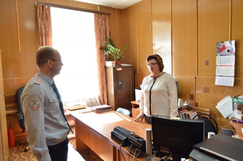 Начальник Управления МВД России по Тверской области с рабочим визитом посетил Кашинский, Калязинский и Кесовогорский районы