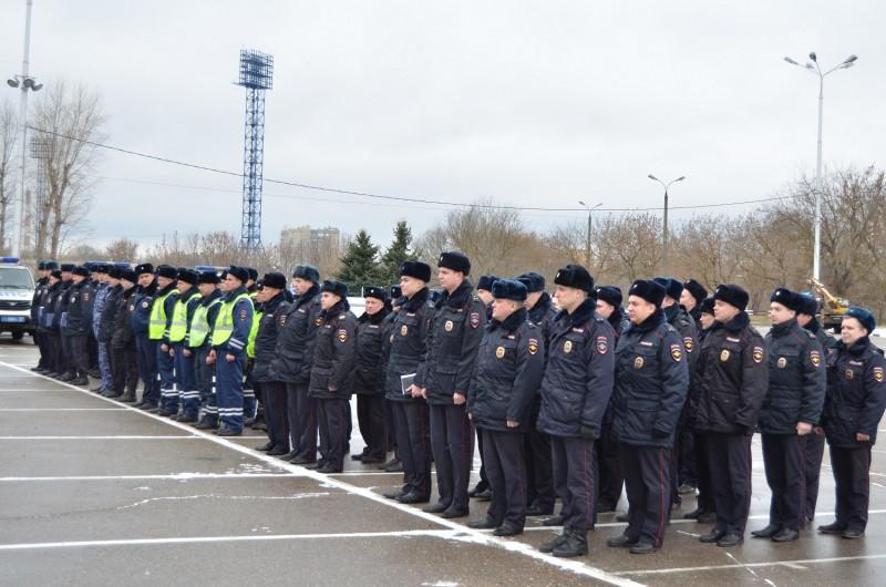 В Твери прошел единый инструктаж нарядов полиции