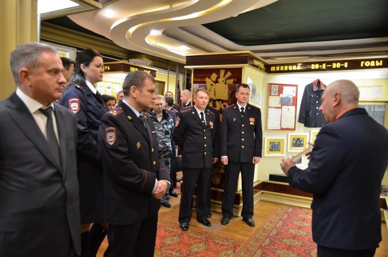 Руководство УМВД России по Тверской области и лучшие сотрудники посетили музей