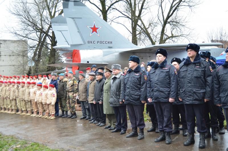 В Твери в парке Победы состоялось праздничное мероприятие посвященное Дню сотрудника органов внутренних дел