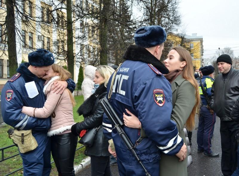 Тверские полицейские вернулись после очередной командировки на Северный Кавказ