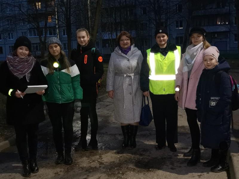 В Тверской области прошла акция «Засветись-стань заметней на дороге!».