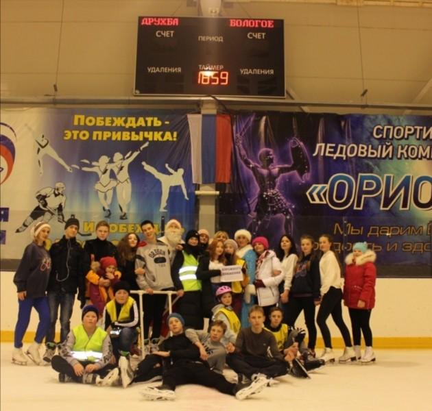 Бологовские автоинспекторы и ЮИДовцы провели акцию «Безопасный Новый год»