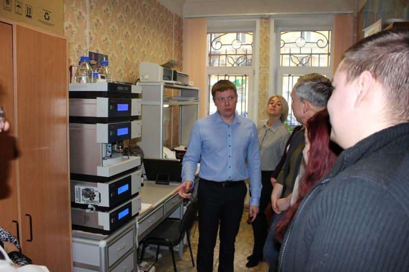 Тверской «Студенческий десант-2020» побывал в гостях у экспертов-криминалистов