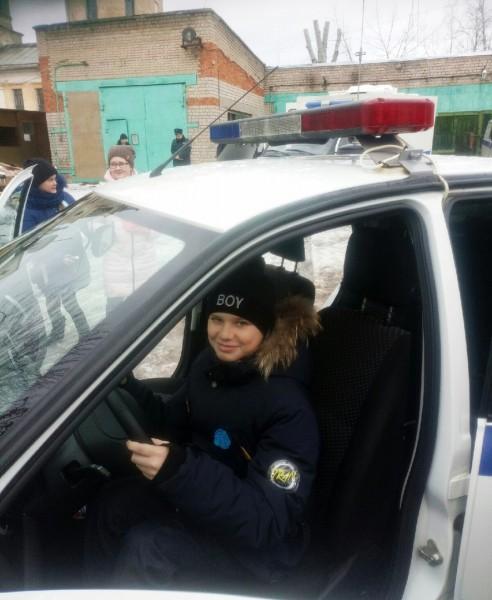 Автоинспекторы ОГИБДД «Торжокский» провели «День открытых дверей» в отделе полиции