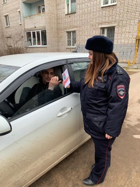 Полицейские Кимрского района совместно с представителями общественности провели мероприятие «Маленький пассажир большая ответственность»