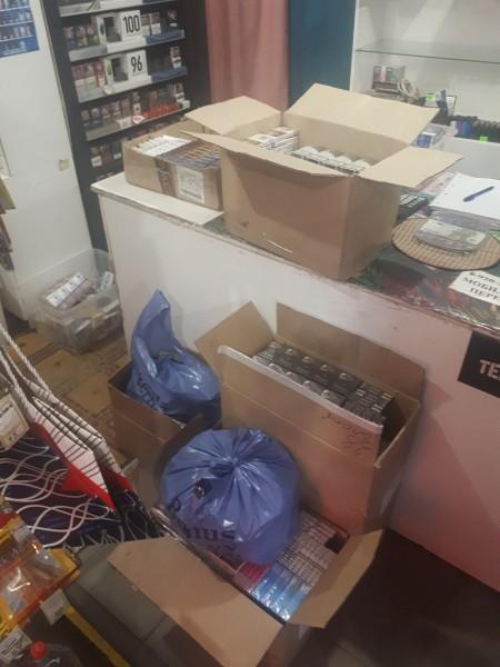 В Тверской области возбуждено уголовное дело по факту сбыта немаркированных табачных изделий