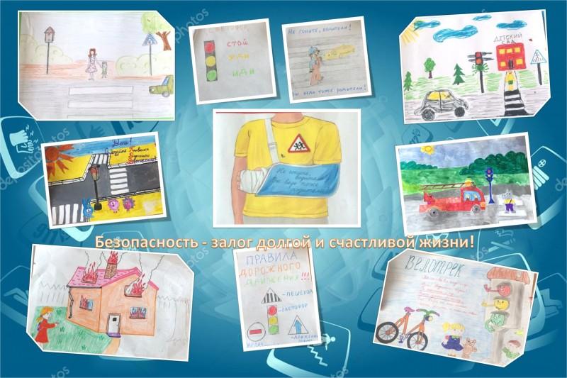 В Конаковском детском саду состоялось творческое занятие по Правилам дорожного движения