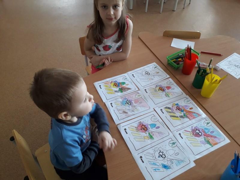 Воспитанники детского сада города Бологое в игровой форме изучают Правила дорожного движения
