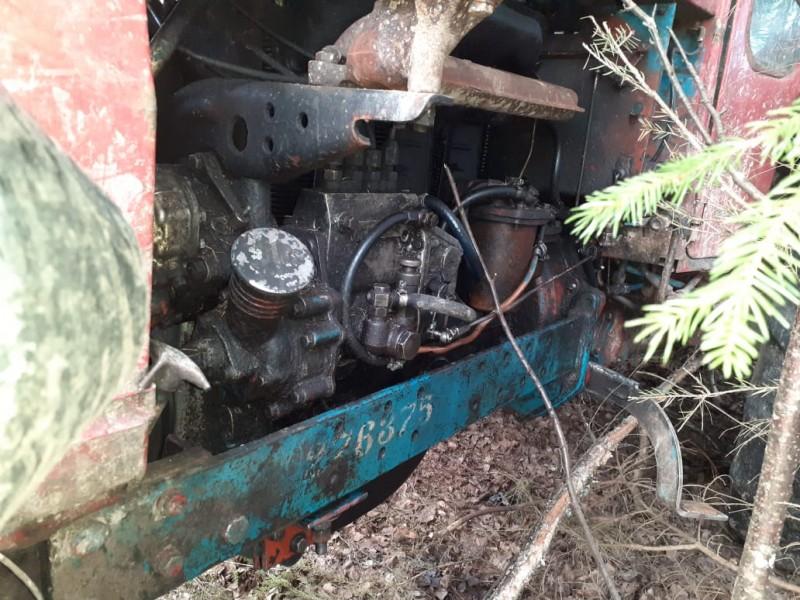 В Тверской области сотрудники полиции раскрыли кражу двух тракторов