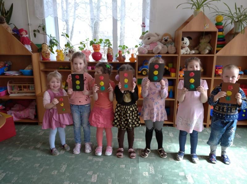 В Тверской области в детском саду состоялось мероприятие «Мой друг светофор»