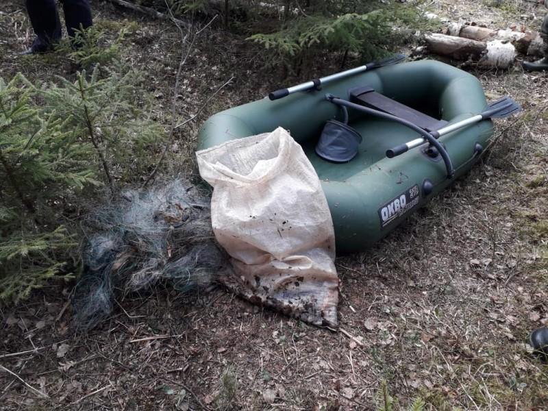 В Тверской области сотрудники полиции пресекли незаконный вылов биоресурсов