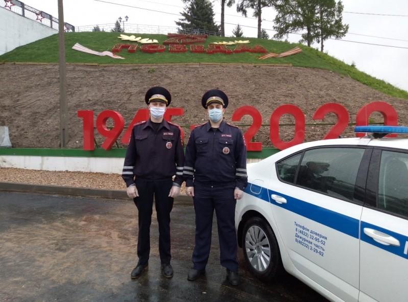 Сотрудники Госавтоинспекции оказали помощь в поиске человека