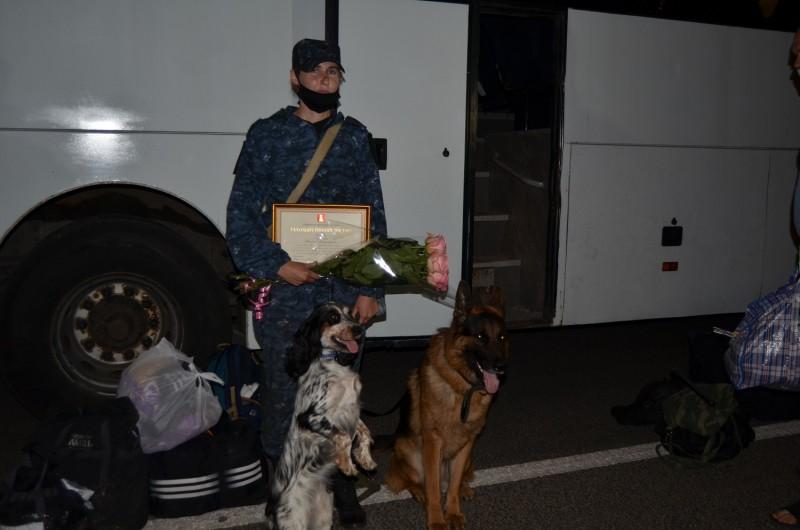 Сводный отряд тверской полиции вернулся из командировки на Северный Кавказ