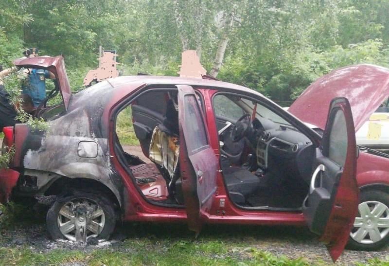 В Твери полицейские задержали подозреваемого в поджоге машин