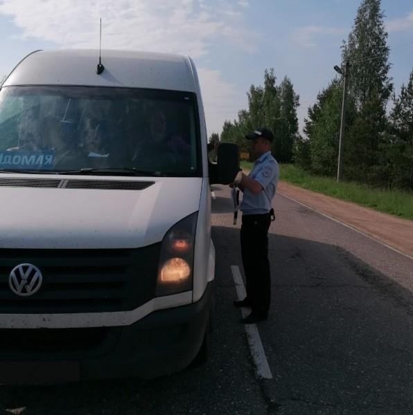В Тверской области продолжается проведение мероприятий по контролю за организацией пассажирских перевозок