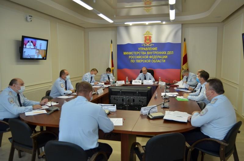 В региональном управлении МВД подведены итоги работы за полугодие