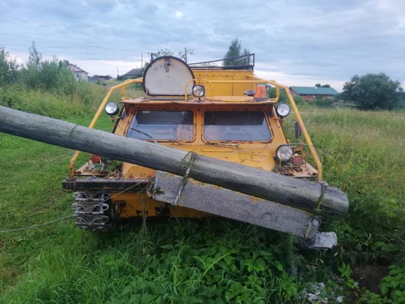В Тверской области полицейские задержали подозреваемых в угоне вездехода