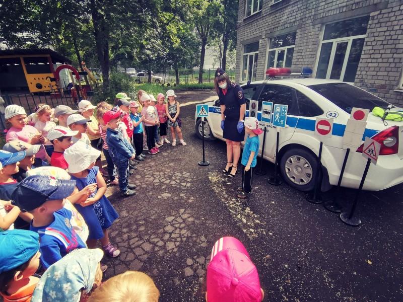 В детском саду «Солнышко» города Твери состоялся тренинг по правилам дорожного движения