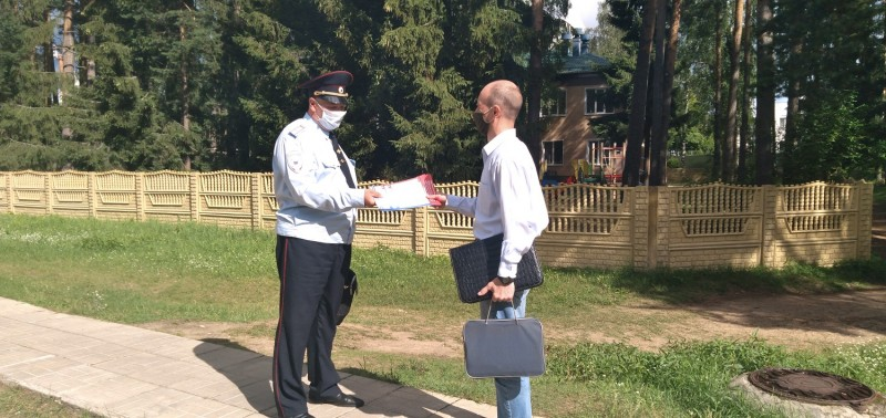 В Тверской области полицейские и общественники провели акцию «Стоп! Мошенник!»