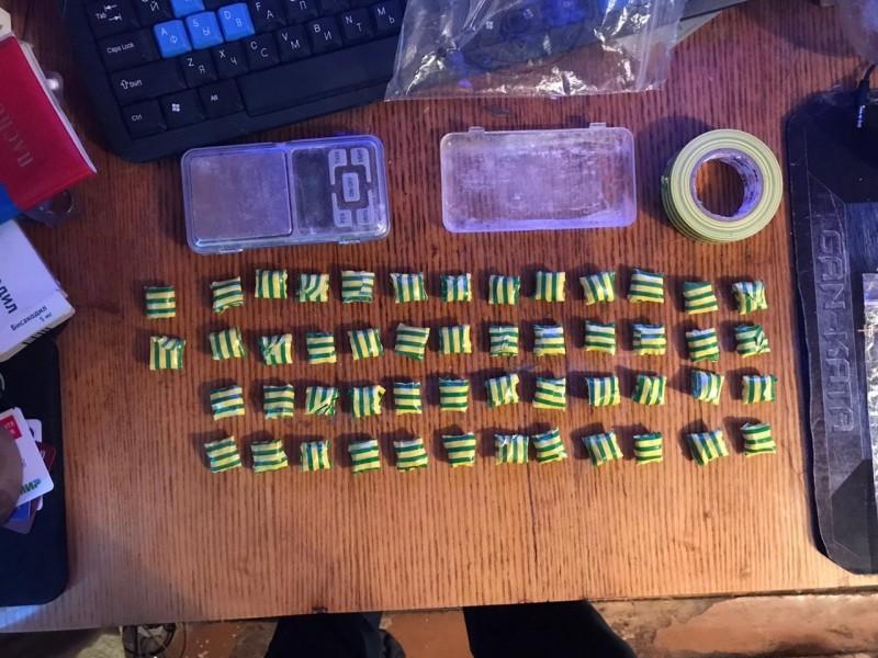 Тверские полицейские задержали подозреваемого в хранении наркотика