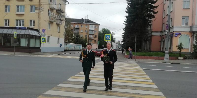 Сотрудники ГИБДД посетили кадетов