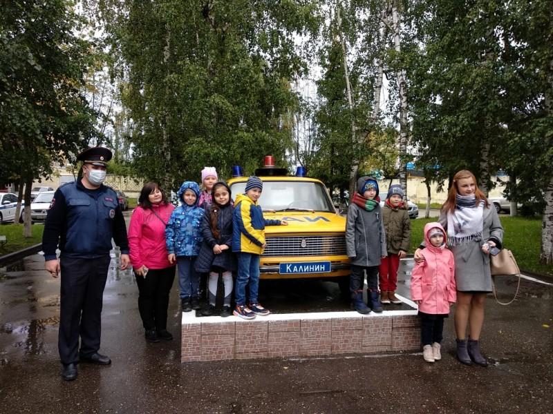 Тверские школьники побывали в гостях у Госавтоинспекции