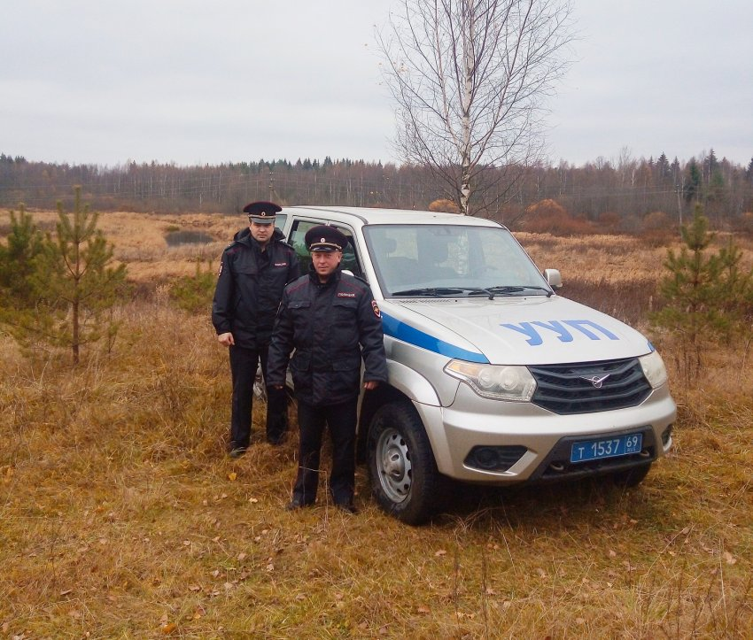 На имя начальника УМВД России по Тверской области поступило благодарственное письмо