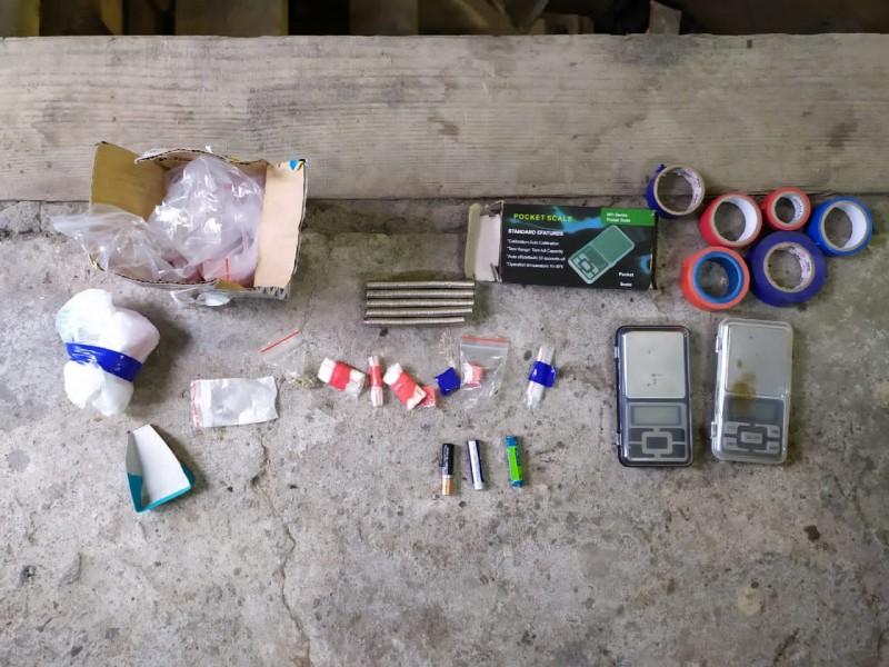 В Тверской области полицейские, при проверке автомобиля, обнаружили наркотики
