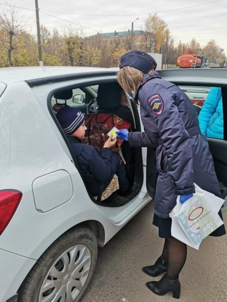 В Твери госавтоинспекторы провели рейд «Ребенок – главный пассажир»