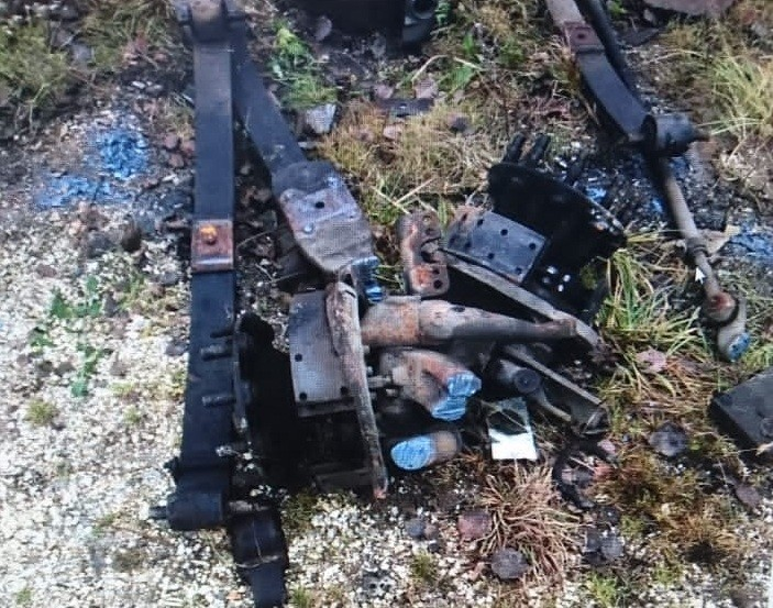 В Тверской области полицейские задержали жительницу Конаково, пытавшуюся похитить детали с грузового автомобиля