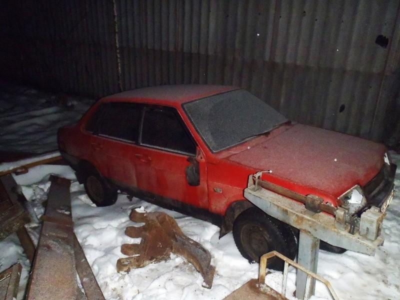 В Тверской области сотрудники полиции раскрыли кражу автомобиля