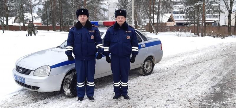 Сотрудники полиции Тверской области доставили роженицу в больницу