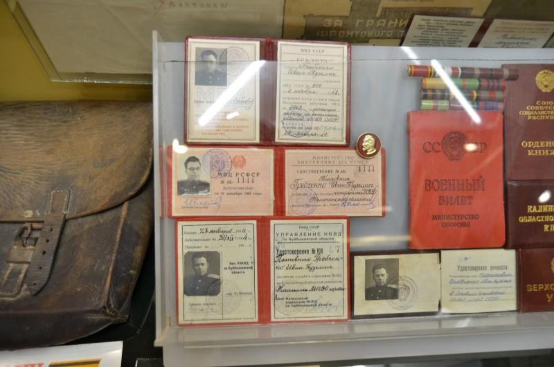 Юные спортсмены побывали в музейной экспозиции Управления МВД России по Тверской области