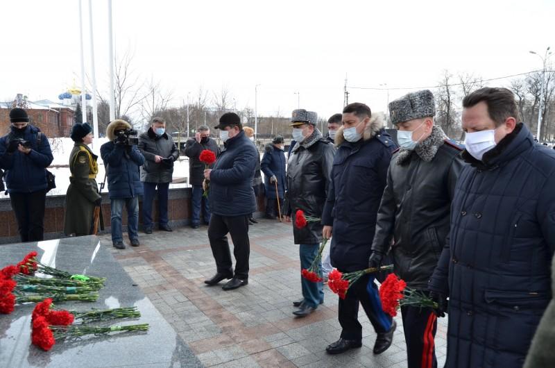 Полиция Верхневолжья почтила память героев Сталинградской битвы
