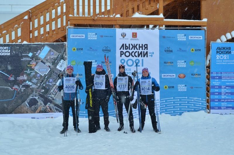 Полицейские Верхневолжья приняли участие во всероссийской акции «Лыжня России»