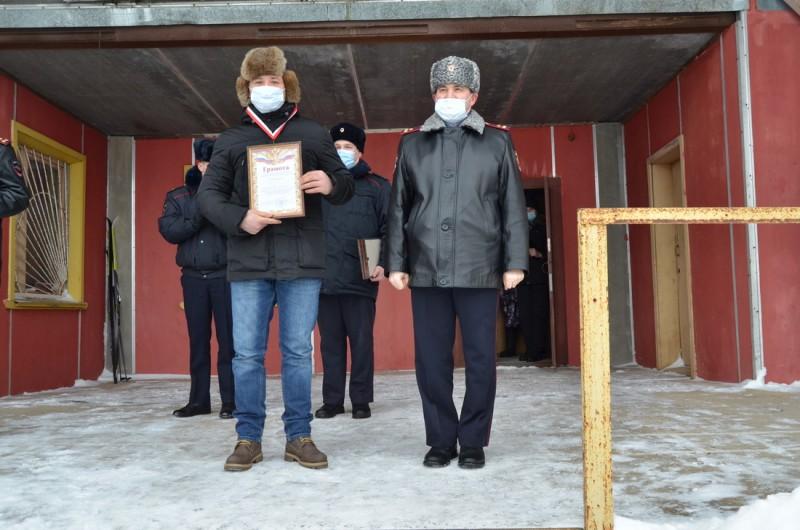 Полиция Верхневолжья провела соревнования по лыжным гонкам среди сотрудников