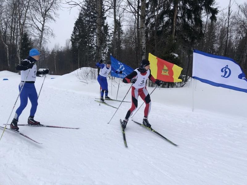 В Тверской области состоялась лыжная эстафета в рамках Спартакиады среди сотрудников силовых структур