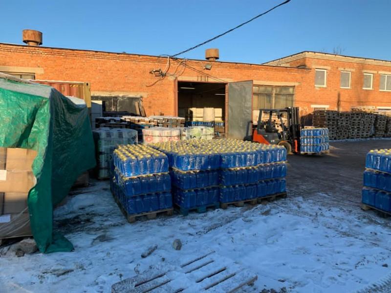 В Тверской области пресечена незаконная деятельность по производству и сбыту контрафактной незамерзающей жидкости