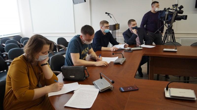 Начальник УМВД России по Тверской области провёл пресс-конференцию с региональными журналистами