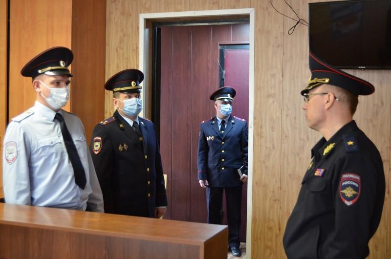 Начальник областного УМВД посетил с рабочим визитом Кимрский, Спировский, Фировский и Вышневолоцкий районы