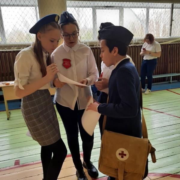 Конаковские школьники соревновались в знании Правил дорожного движения и умении оказывать первую помощь пострадавшим после ДТП