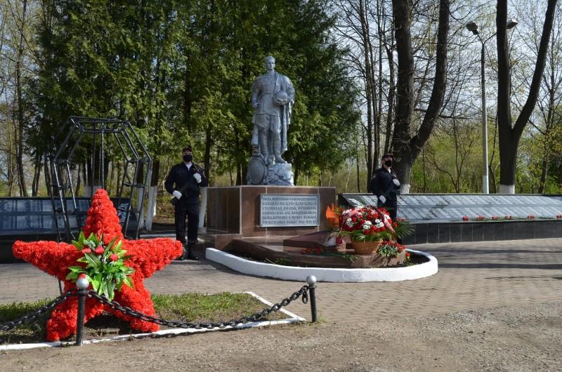 В УМВД России по Тверской области состоялось торжественное мероприятие, посвященное 76-й годовщине Победы в Великой Отечественной войне